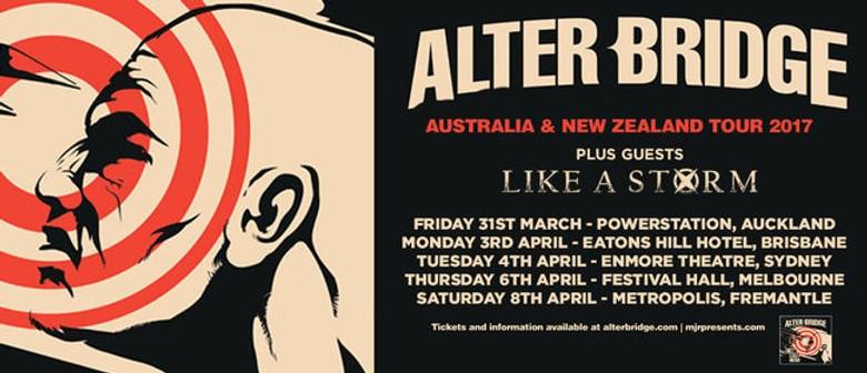 Alter Bridge Return To Australia This April