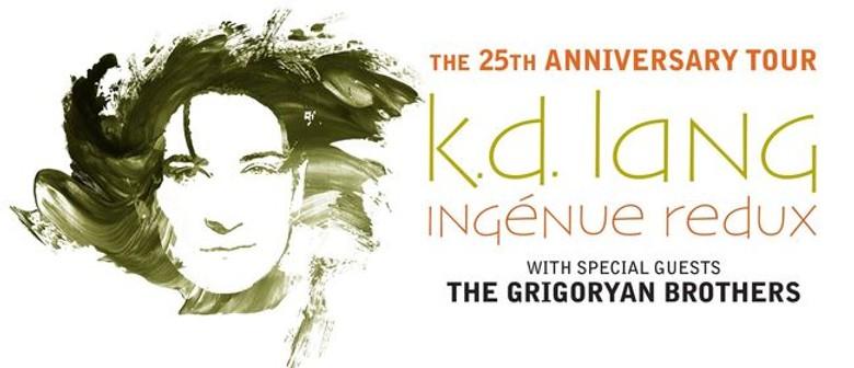 k.d. lang Brings Ingénue Redux 25th Anniversary Tour Down Under This July