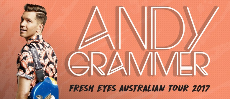 Andy Grammer All Set For His Debut Australian Tour This October