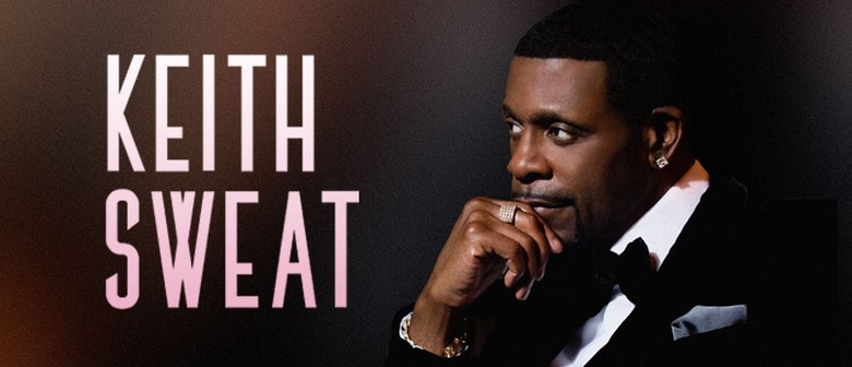 R&B Superstar Keith Sweat Hits Australian Roads This July To August