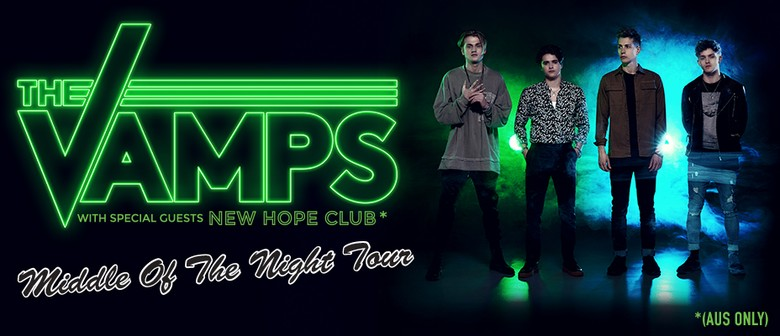 The Vamps Bring 'Middle of the Night World Tour' To Australia This September To October