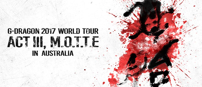 G-Dragon Returns To Australia This August