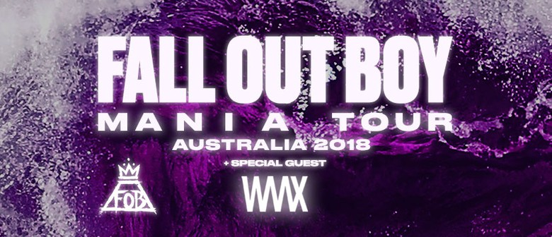 Fall Out Boy Return To Oz Shores In February To March 2018