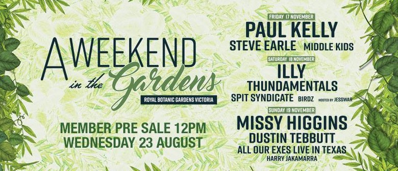A Weekend In the Gardens Returns This November