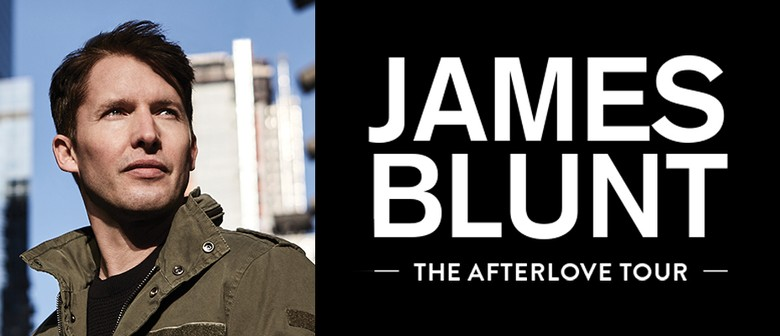 James Blunt Returns Down Under With 'The Afterlove' Tour