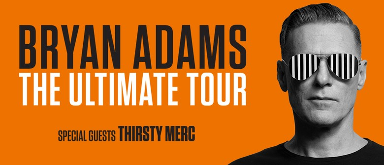 Bryan Adams Brings 'Ultimate Tour' To Tour Australia In January Next Year