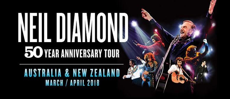 Neil Diamond Brings 50 Year Anniversary Tour To Australia This 2018