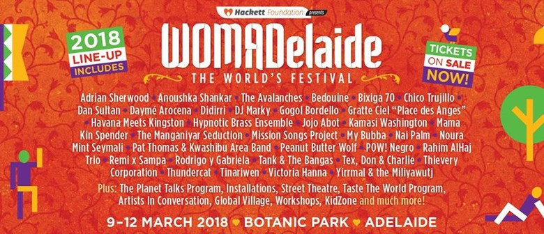 WOMADelaide Drops Full Line Up For 2018