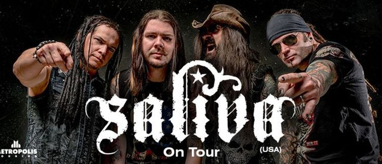 Saliva To Tour Australia For The First Time This February