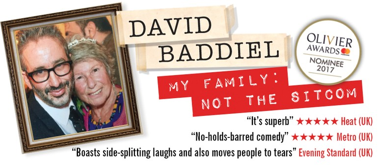 David Baddiel Brings 'My Family: Not The Sitcom' Show To Australia This September