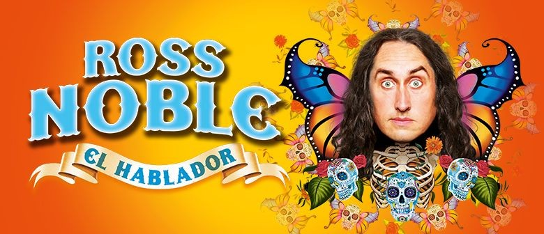 Ross Noble returns to Australia with his brand new show 'El Hablador'