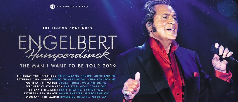 Engelbert Humperdinck Brings His 'The Man I Want To Be Tour' To Australia Next Year