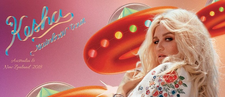 Kesha Flies Down Under This October For Her 'Rainbow Tour'