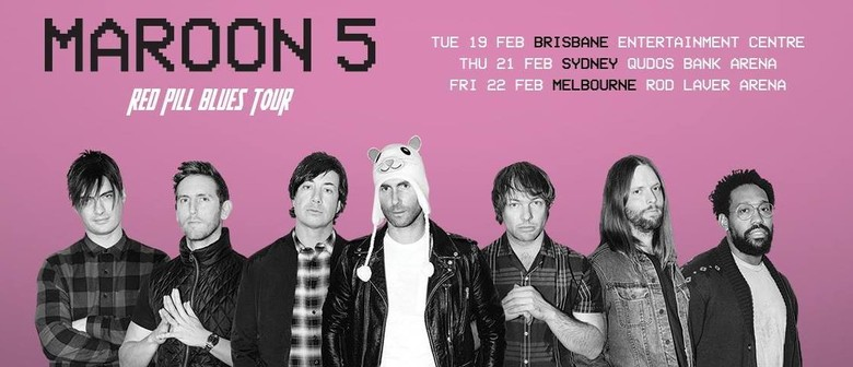 Maroon 5 Bring Their  'Red Pill Blues Tour' To Australia In February 2019