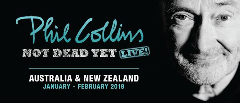 Phil Collins Returns To Australia Next Year With 'Not Dead Yet: Live!' Tour