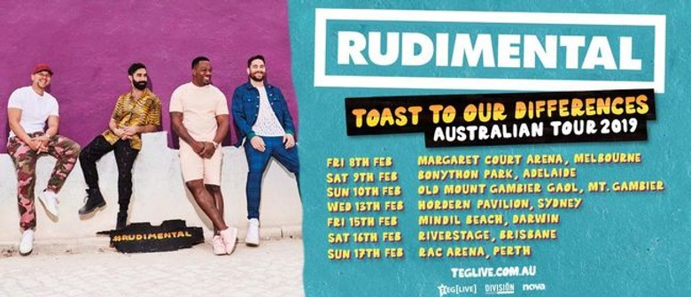 Rudimental Bring 'Toast To Our Differences' Tour To Australia In February