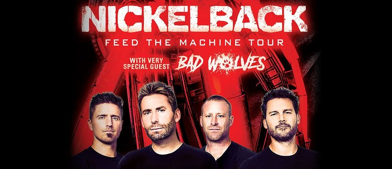 Nickelback Bring Their 'Feed The Machine' Tour To Australia In February