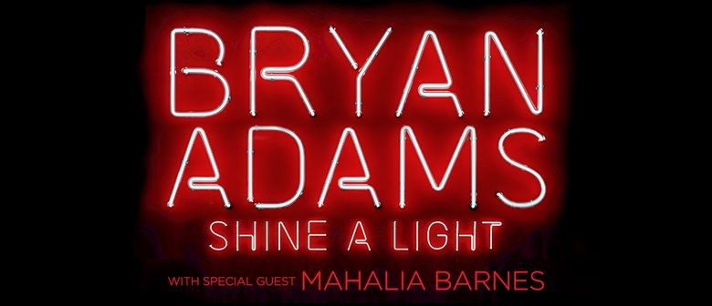 Bryan Adams To Light Up Aussie Stages In March With His 'Shine A Light Tour'