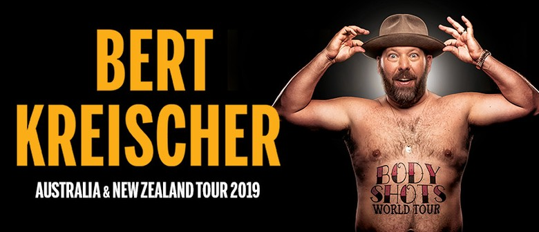 Bert Kreischer Stops By Australia As Part of His 'Body Shots World Tour' This June