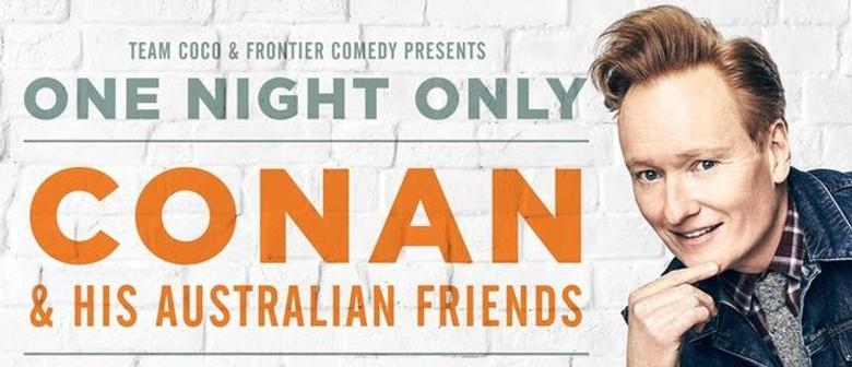 Conan O'Brien Returns To Australia For An Exclusive Sydney Show