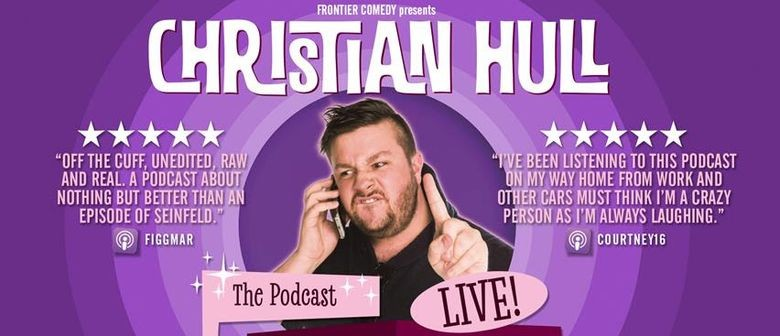 Christian Hull Tours 'Complete Drivel Live' This Autumn