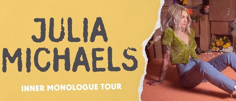 Julia Michaels Touches Down In Australia This September For Her Debut AU Headline Shows