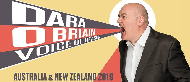 Dara Ó Briain Flies Down Under This September With New Stand-Up Show 'Voice of Reason'