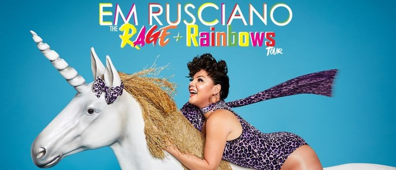 Em Rusciano's 'The Rage and Rainbows Tour' Steams Up Aussie Stages This Winter