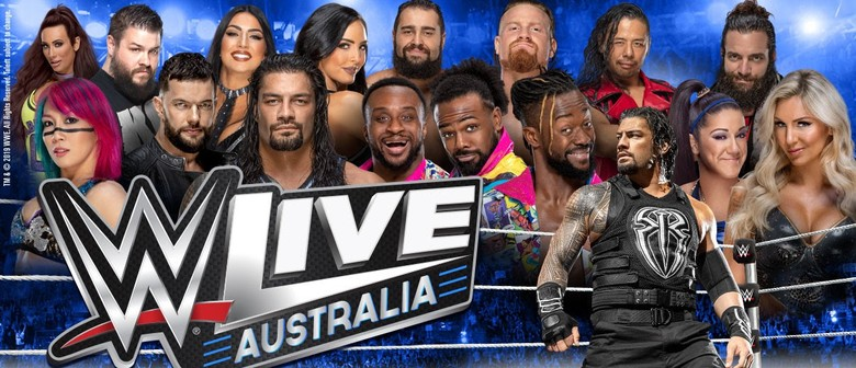 WWE Live Returns To Australia This October
