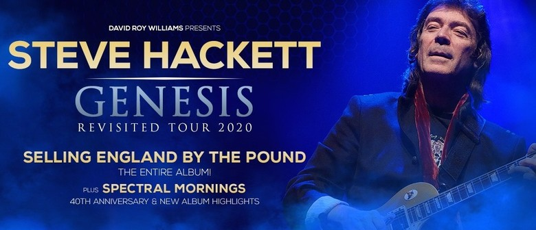 Steve Hackett Returns To Australia Next Year May For 'Genesis Revisited 2020' Tour
