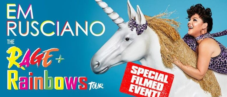 Em Rusciano Films Her First Ever Comedy Special In Melbourne This November