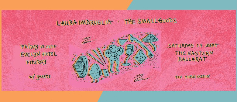 Laura Imbruglia and The Smallgoods Join Forces For Two Shows This September