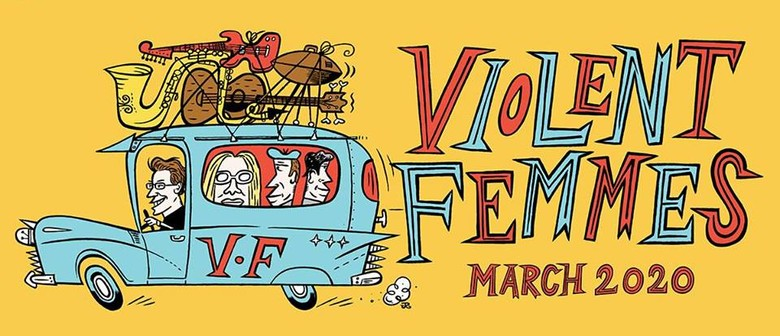 Violent Femmes head back to Australia in March 2020 for a national tour