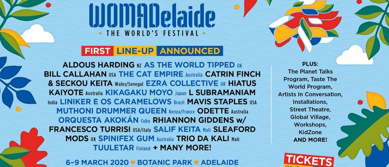 WOMADelaide returns next year March; releases first round lineup