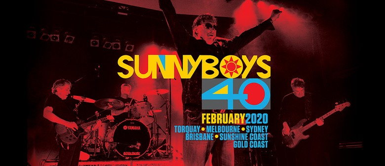 Sunnyboys to celebrate 40 years anniversary with new music release plus tour