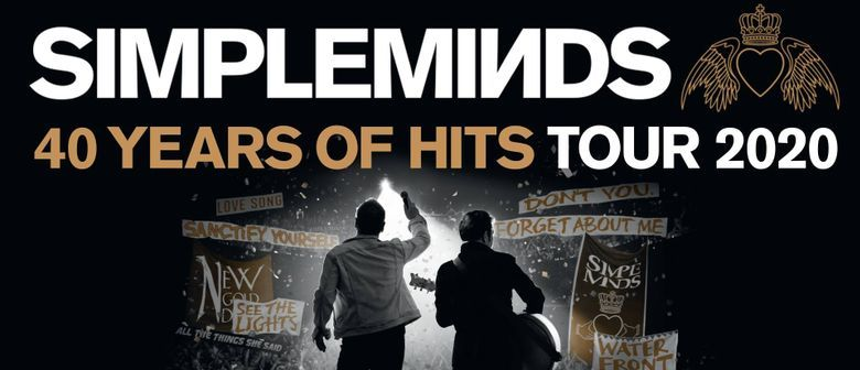 Simple Minds bring their '40 Years of Hits Tour' to Australia this November to December