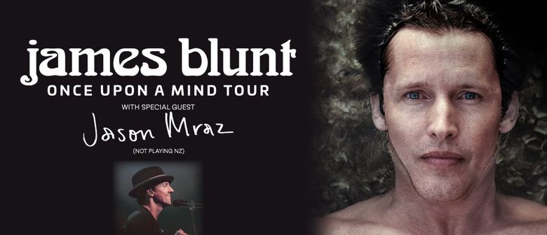 James Blunt to tour Australia in November 2020 with Jason Mraz in tow