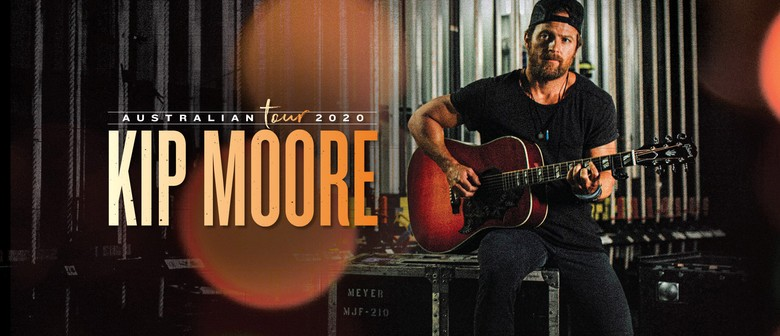 Kip Moore plays new music plus collection of hits for Aussie fans next year