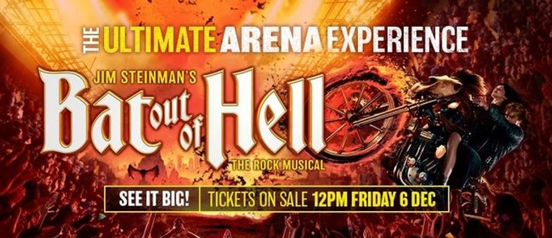 Jim Steinman's 'Bat Out of Hell' musical to heat up Aussie arenas in June 2020