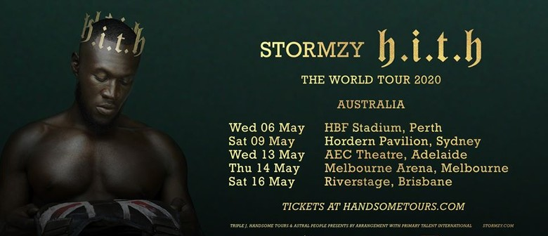 UK's Stormzy takes his world tour to Australia next year May