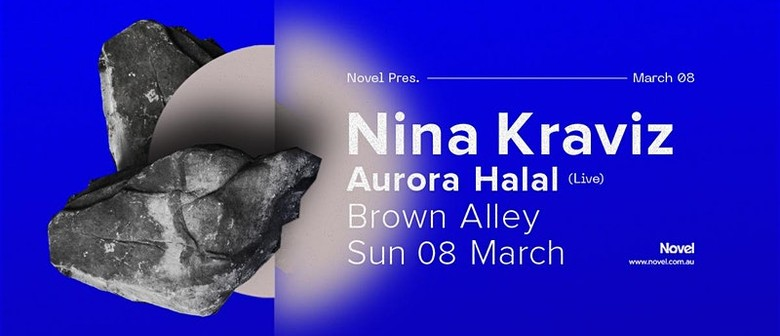 Nina Kraviz to play headline Melbourne show this March with Aurora Halal in tow