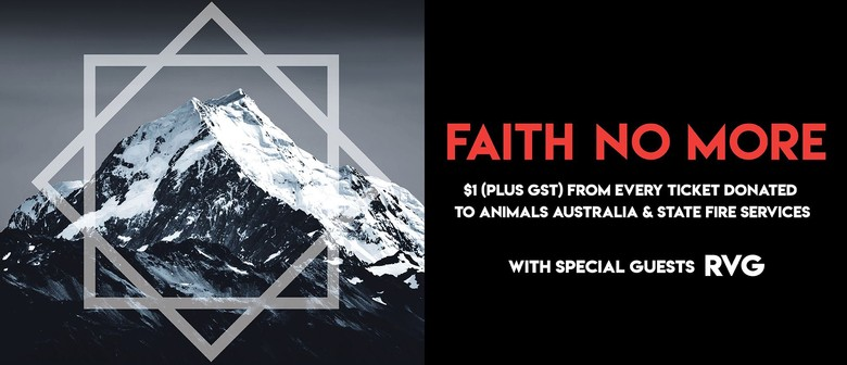 23 years later, Faith No More return to Australian shores for a five-date arena tour this May