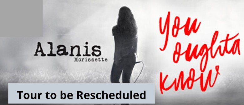 Alanis Morissette's upcoming Australian shows are being rescheduled for later dates