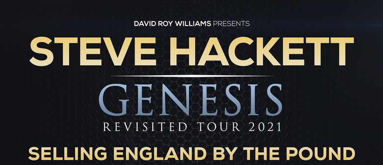Steve Hackett's Genesis Revisited Tour New Dates Announced