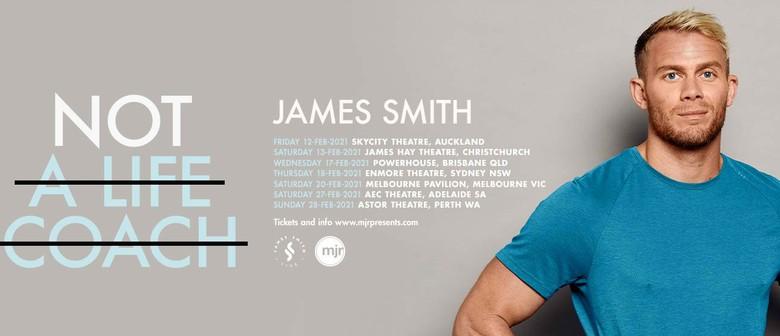 James Smith Announces Speaking Tour
