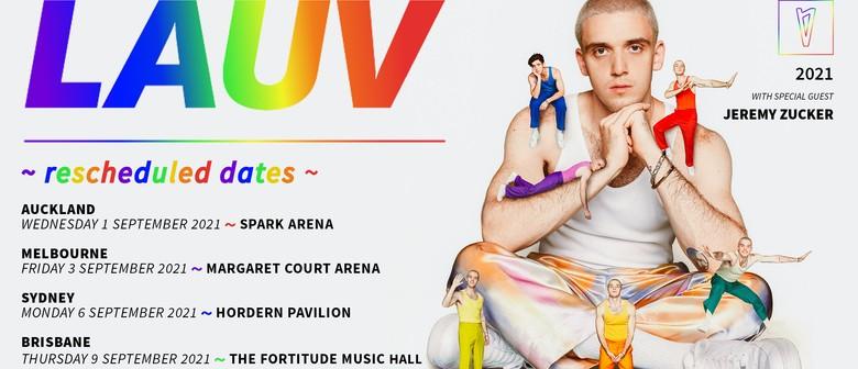 LAUV reschedules ~how i'm feeling~ Australian Tour to September 2021