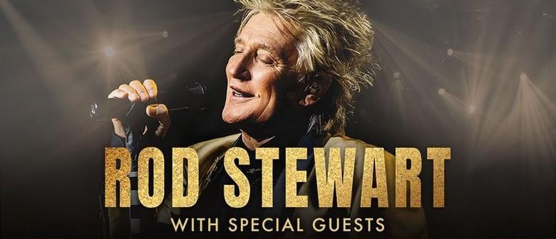 Rod Stewart announces rescheduled Australian show dates for 2022