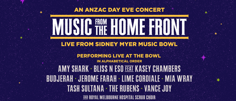 Music From The Home Front returns!