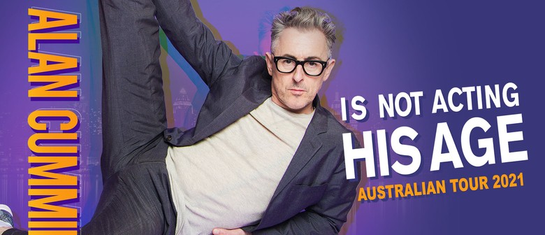 Alan Cumming brings new cabaret production to Aus this June/July!