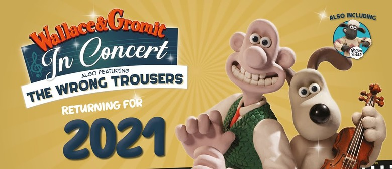 Wallace and Gromit are coming to Perth!